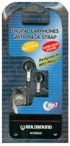 Auricolare Stereo Goldsound MP-1001 jack 3.5 mm per MP3