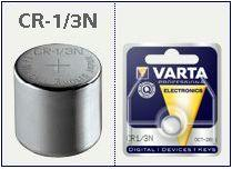 Batteria bottone Litio 3 Volt CR 1/3  N