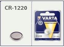Batteria bottone Litio 3 Volt CR 1220