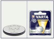 Batteria bottone Litio 3 Volt CR1616