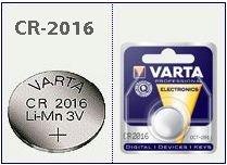 Batteria bottone Litio 3 Volt CR2016