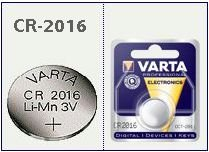 CR2016 pila bottone Litio 3 Volt Varta