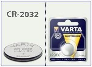 CR2032 pila bottone Litio 3 Volt Varta