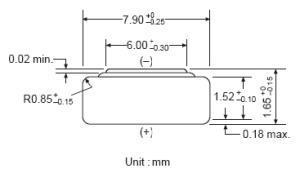 Batteria bottone Ossido Argento  GP 315