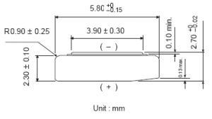 Batteria bottone Ossido Argento GP 319