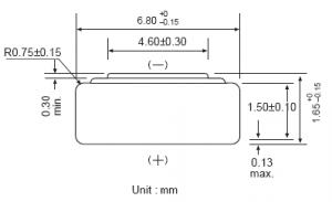 Batteria bottone Ossido Argento GP 321-SR616