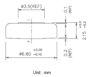 Batteria bottone Ossido Argento 364-363