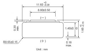 Batteria bottone Ossido Argento GP 365/366