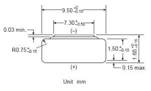 Batteria bottone Ossido Argento GP 373