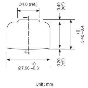 Batteria bottone Ossido Argento GP 393