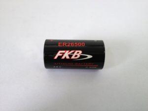 Batteria Litio ER26500 3.6 Volt serie C con terminali 1/2 Torcia 9A