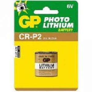 Batteria Litio Photo 6 Volt serie CR-P2