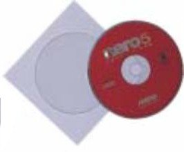 Buste carta per CD/DVD colorate(100pz)