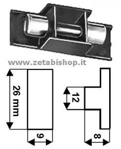 Cappuccio portafusibile  5x20  per CF1915