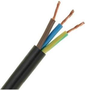Cavo rete 3x1 300/500 volt nero C262