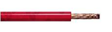 Cavo Tasker al silicone 1x6 Rosso C235R