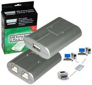 Data swicth USB 2.0 2 PC 1 periferica