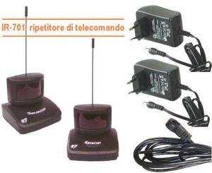 Estensore di telecomando IR 701 Wireless 433 Mhz