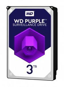 """Hard Disk interno 3,5"""" S-ATA III 3000 GB (3TB) 7200 RPM WD Purple"""