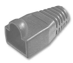 Guscio di protezione per spine modulari Cat 5  Nero
