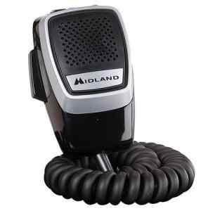 Microfono CB Midland per ALAN 100 connettore Din 5 poli