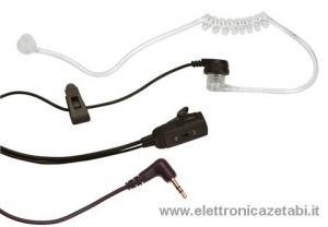 Microfono/Auricolare  Spina singola Midland MA 31-SX Pneumatico