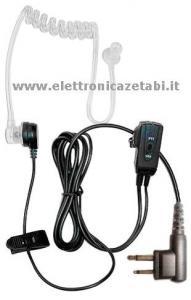 Microfono Auricolare Spina doppia Midland MA 31 L  Pneumatico