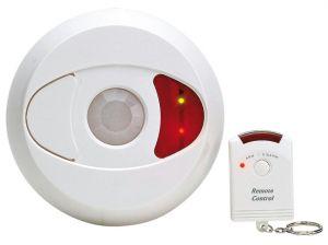 Mini Allarme da soffitto ad infrarossi con telecomando
