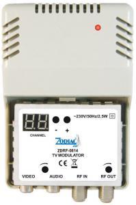 Modulatore  RF Zodiac ZDRF-0814   VHF/UHF  programmabile