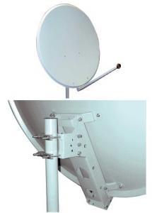 Parabola Zodiac alluminio D 120 con accessori