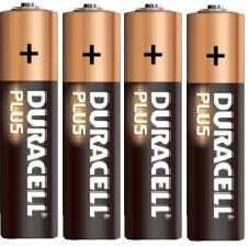Pila alkalina 1.5volt serie AA Duracell (4 pz)MN1500