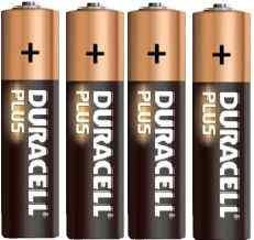 Pila alkalina 1.5volt serie AAA Duracell  (4 pz)