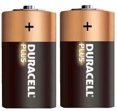 Pila alkalina 1.5volt serie D Duracell  (2 pz)