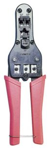 Pinza Crimpare Plug Telefonici 4-6-8 Professionale