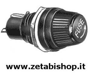 Portafusibile Pannello 5x20 10A 250 Volt norme VDE