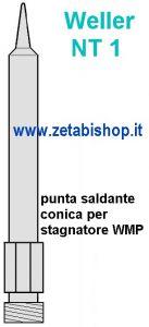 Punta Weller NT1 conica 0.25x10,9 mm WMP PENC