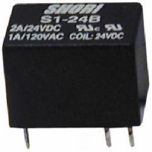 Relè Ultraminiaturizzato C.S.1Sc.6 volt 2A NAIS