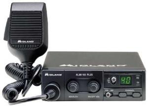 Ricetrasmittente Midland Alan 100 Plus 40 CH AM-FM 4 Watt