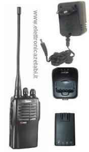 Ricetrasmittente Zodiac K1 PMR 446 con batteria e carica batteria