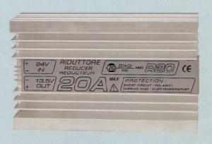 Riduttore di tensione ZG IN 24 volt out 12 20A