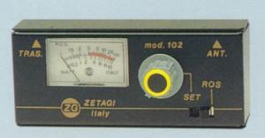 Rosmetro ZG Mod M 102 3-200 Mhz 500 Watt