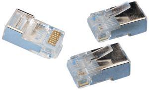 Spina Modulare schermata 8P8C  RJ45  x cavo  FTP cat 5E