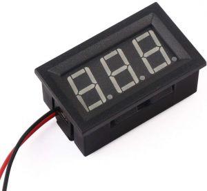 "Voltmetro da pannello digitale 0,56"" DC 7-99.9V"