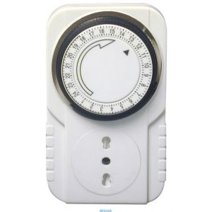 Timer MKTI-2 meccanico c/switch 24 ore