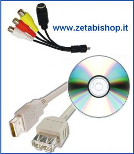 Video Grabber USB 2,0 Mpeg 4 EW3705