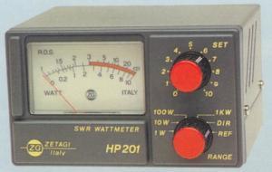 Wattmetro Rosmetro ZG Mod HP 201 3-200 Mhz 2 Kw
