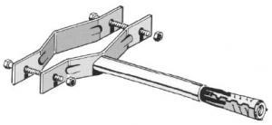 Z335 Zanca con espanso 10 Cm pesante
