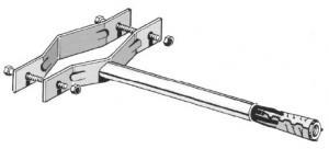 Z335/15  Zanca con espanso 15 Cm pesante