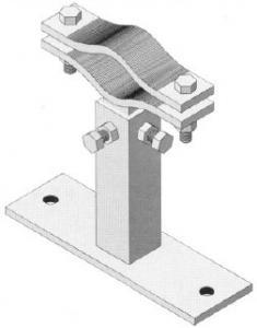Z360 Zanca regolabile senza rinforzo 15-25 Cm