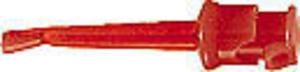 Puntale Clip rigido 24 Vac 5A  Rosso